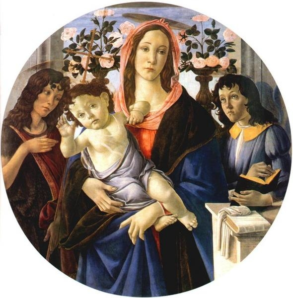 Madonna and Child with St. John the Baptist and an angel