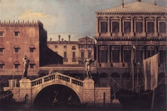 Venice: Capriccio of the Zecca and Granaries with the Ponte della Pescaria