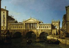 Venice: Capriccio with Palladio's Design for the Rialto