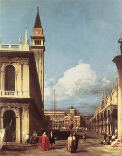 Venice: The Piazzetta towards the Torre dell'Orologio