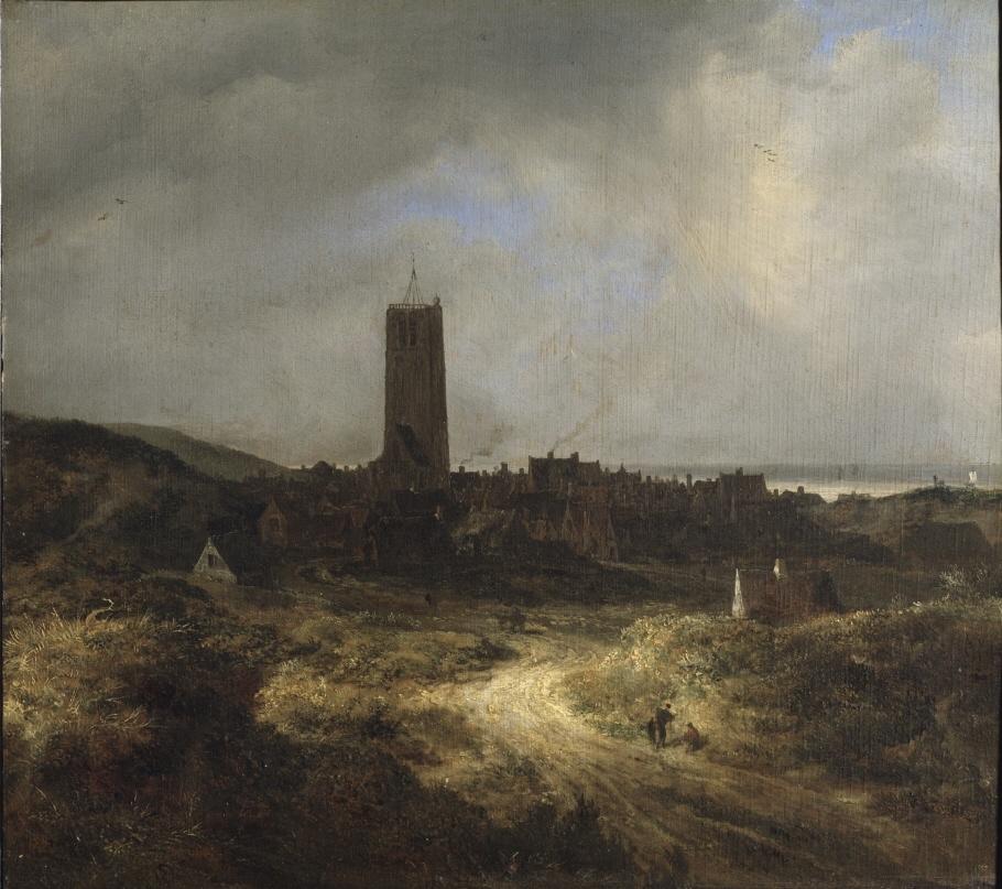 View of Egmond aan Zee