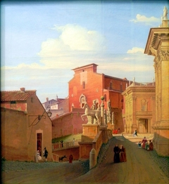 View of the Capitol im Rome