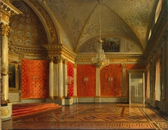"""View of the Peter's (Small Throne) Room in the Winter Palace"""