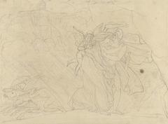 Vlucht van Dido en Aeneas