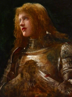 'Watchman, What of the Night?'  (Dame Ellen Terry [1847-1928] and previously called Joan of Arc by Watts)