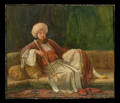 Western Gentleman in Oriental Costume