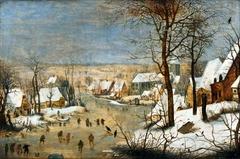 Winter Landscape with a Bird-trap