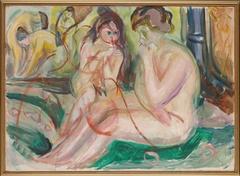 Women in the Bath