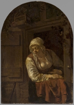 Young Woman at a Window