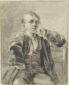 Zelfportret van Reinier Vinkeles