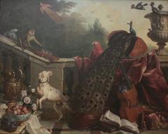 animaux, fleurs et fruits