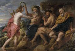Apollo as Victor over Pan