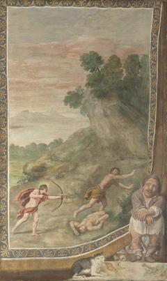 Apollo killing the Cyclops
