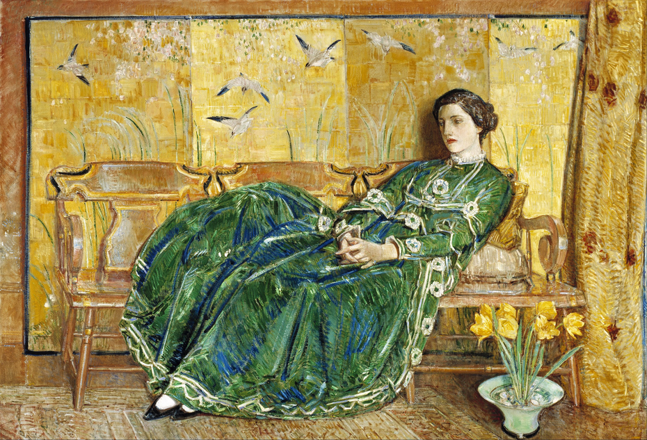 April (The Green Gown)