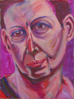 Barb 011313; Oil on Canvas; 20in X 14in