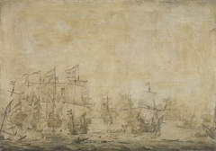 Battle between the Dutch and Swedish Fleets, in the Sound, 8 November 1658