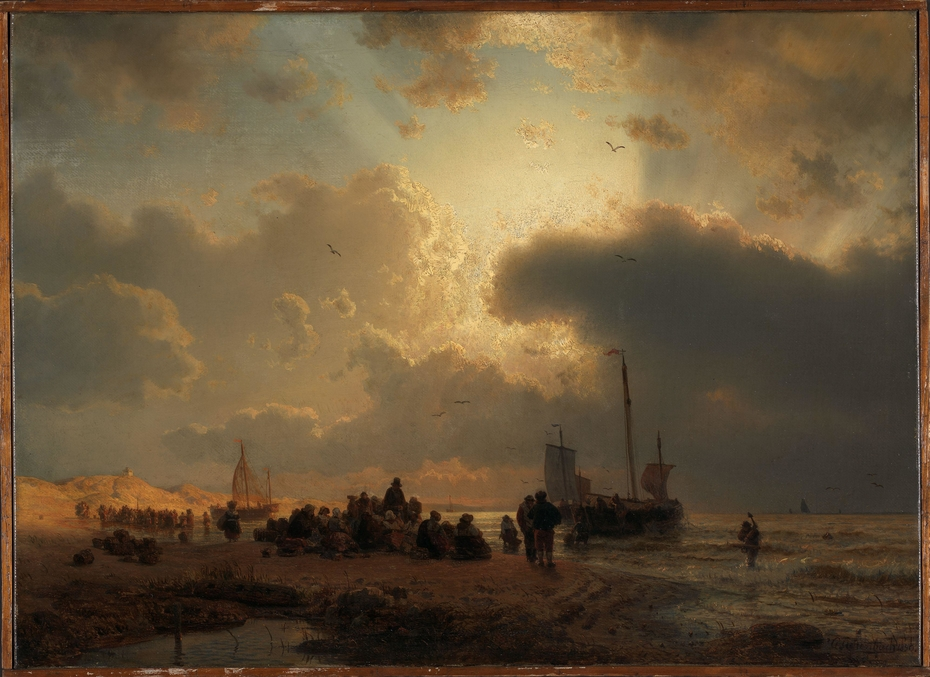 Beach by Scheveningen