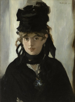Berthe Morisot with a Bouquet of Violets