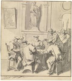 Bevestiging van het Mirakel door de regeerders van Amsterdam