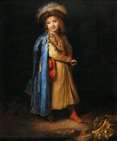 Boy in Polish costume
