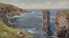 British Coastal View (Coast of Cornwall)