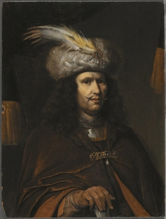 Bust of a Man in a Feathered Turban