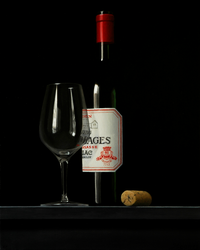 Chateau Lynch Bages Wine Bottle