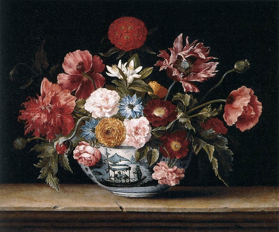 Chinese Bowl with Flowers
