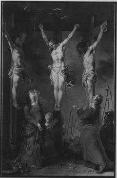 Christus stirbt am Kreuz
