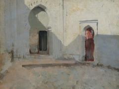 Courtyard, Tetuan, Morocco