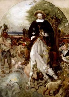 Cromwell on his Farm