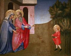 Episode of the childhood of Saint John the Baptist