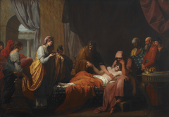 Erasistratus the Physician Discovers the Love of Antiochus for Stratonice