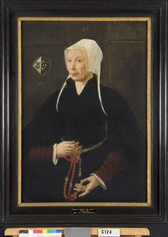 Ermgaert Dirck Huygenzoondr. (1493-1566), echtgenote van Cornelis Dircksz. [Cornets]