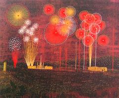 Fireworks in Tondabayashi