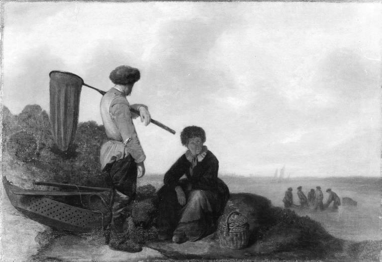 Fishermen on the Beach