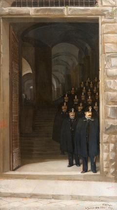Florentine police choir