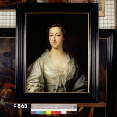 Francis Herbert (1710-1755). Echtgenote van J.A.J. Bigot de Villandry