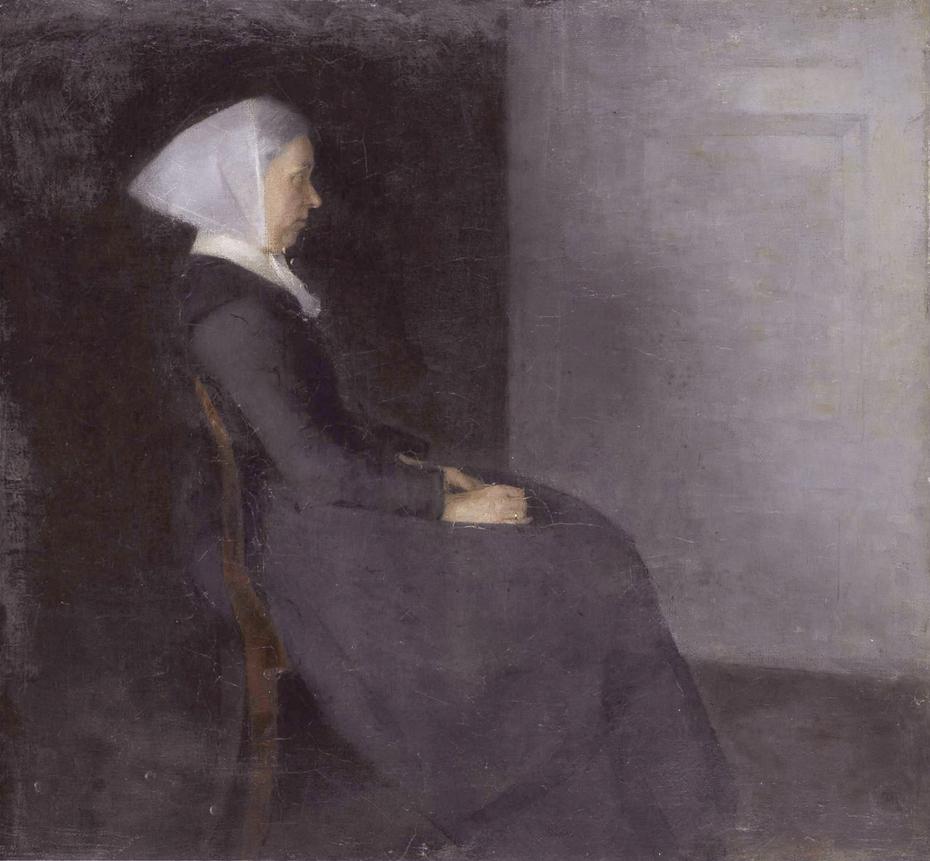 Frederikke Hammershøi, the artist's mother