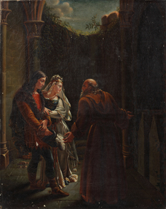 Geneviève and Lancelot visit the tombs of Isolde and Tristan