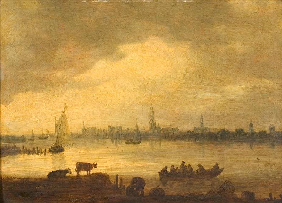 Gezicht op Antwerpen