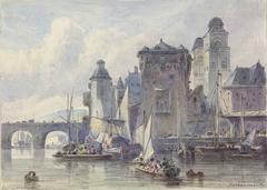 Gezicht te Koblenz