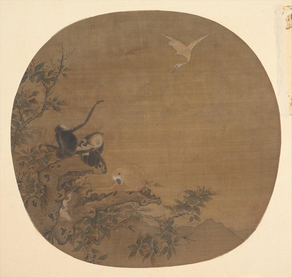Gibbons Raiding an Egret's Nest