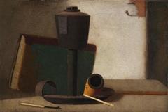 Green Book and Lard Lamp