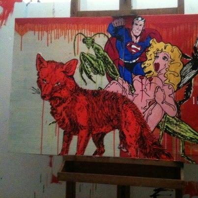 guazzabuglio n°1acrylic on canvas