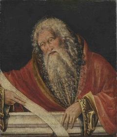 Halbfigur eines Propheten