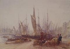 Harbor in Marseilles