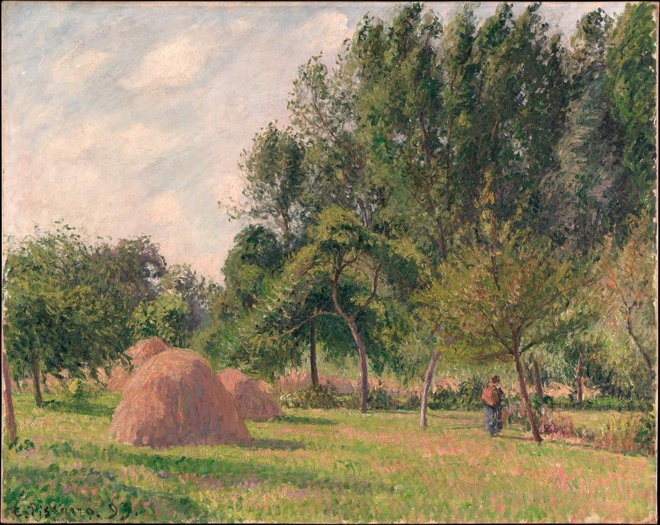 Haystacks, Morning, Éragny