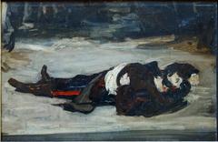 Henri Regnault mort sur le champ de bataille