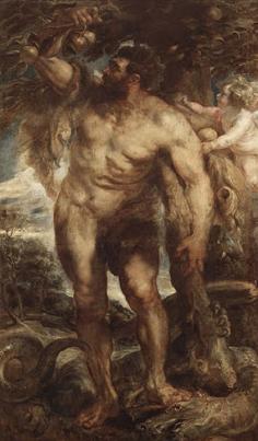 Hercules in the Garden of the Hesperides